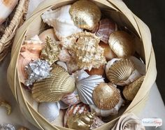 16 Breathtaking DIY Seashell Crafts To Add Beach Spirit To Your Space ~ DIY WITH LOVE