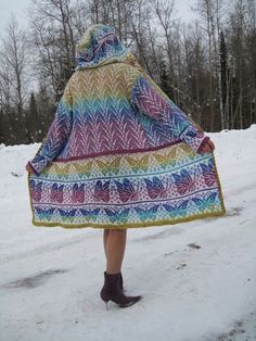 VK is the largest European social network with more than 100 million active users. Knitting Machine Patterns, Sweater Knitting Patterns, Fair Isle Knitting, Knitting Yarn, Creative Knitting, Crochet Coat, Fair Isle Pattern, Long Sweaters, Ravelry
