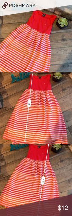d6a4e62e34 Nautica striped dress Girls high low dress. Please see photos for  measurements! Excellent condition