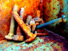 Rusty Screws and Bolts | Flickr - Photo Sharing!