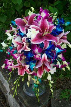 Stargazer Lilly bouquet