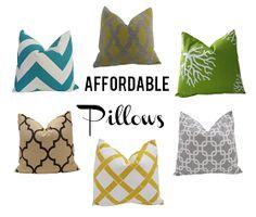 Tart House: Affordable Pillows