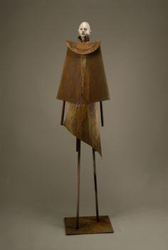 Joe Brubaker(US): Concepcion, 2009, mixed media with wood