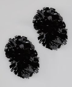 Take a look at this Black Metallic Pom-Pom by CheerZone on today!