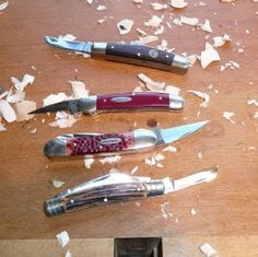 woodcarving knives   ... or Woodcarving?…an article on whittling   Michael Keller Woodcarving