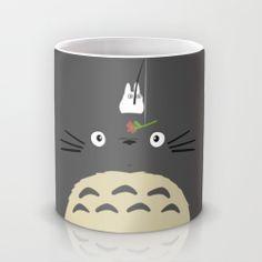 Cute Totoro Mug by Minette Wasserman