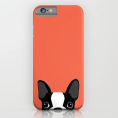 IPHONE & IPOD CASE IPHONE 6S SLIM CASE   Anne Was Here (annewashere) Boston Terrier by Anne Was Here