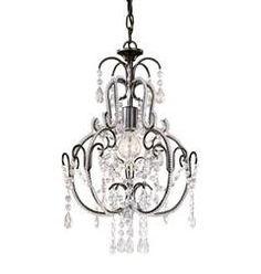 bathroom chandelier