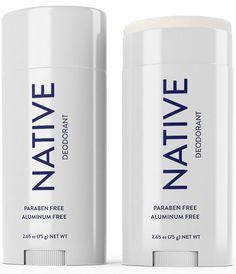 Native Deodorant is aluminum-free and paraben-free.