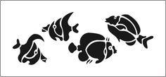 Similiar Fish Stencil Keywords