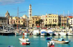 Bari, Italy (This is where my Italian roots began. My great-grandmother was born & raised here.)