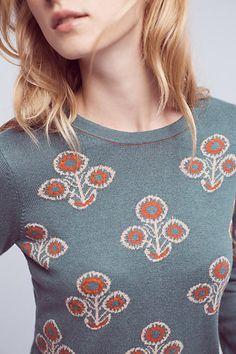 Liatris Floral Top - anthropologie.com