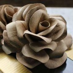 Rosa de rolo de papel higiênico – Passo a Passo                                                                                                                                                                                 Mais