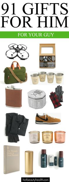 91 gifts for him this Christmas. | Easy gift ideas for Husband, Brother, Uncle, Son, young adults, and friends!