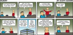 "This #Dilbert #comic is why the phrase ""meetings are where minutes are taken and hours are lost."" http://cbc123.blogspot.com/"
