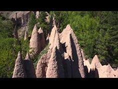 Rittner Erdpyramiden - Piramidi di terra del Renon - YouTube