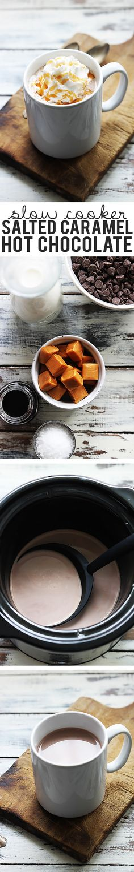 Creamy caramel hot c
