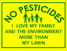 From our #3 Tip For Earth Day - Stop Using Pesticides & Chemical Fertilizers On Your Yard