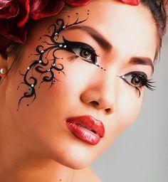 Beautiful facial design