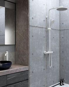 Bathroom Spa, Bathroom Toilets, Small Bathroom, Dream House Interior, Gray Interior, Wall Plant Holder, Home Decor Hooks, Diy Sliding Barn Door, Bright Kitchens