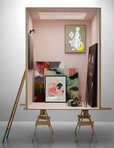 """NO,Sir.the room doesn't come with it's own bathroom."""",pinned by Ton van der Veer Visual Display, Display Design, Store Design, Interior Architecture, Interior Design, Boconcept, Tiny Spaces, Retail Design, Scene"""