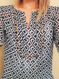 Moni Geo Print & Camisole Blouse - Stitch Fix