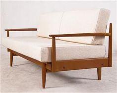 Sofa / Daybed, probably Knoll Antimott / Wilhelm Knoll | DesignAddict