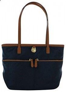 Michael Kors Kampton Medium Pocket Nylon Tote Handbag 00882717dad1c