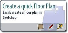 How to create a floor plan via mastersketchup.com