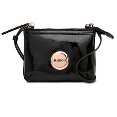 02a64eb049d1 Mimco Secret Couch Black Rose Gold  199.00AUD from David Jones Mimco Bag