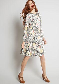 e3f432ac3b Yours Truly Long Sleeve Dress