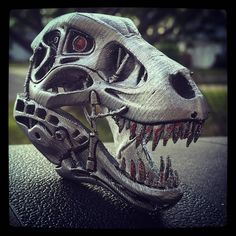 Something we liked from Instagram! Liking how the #t888rex came out. #3dprinted #xyzprinting #3dprinter #xyzdavincipro #hatchbox3d #hatchboxpla #hatchboxfilament by mpreziv5 check us out: http://bit.ly/1KyLetq