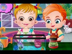 BABY HAZEL went to ツ Pet Store as she Loves Animals Baby Hazel fish store