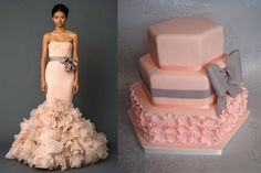 Vera Wang interpreted in cake