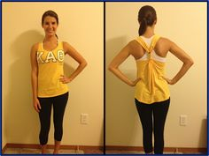 Too many t-shirts? Make no-sew tank tops!