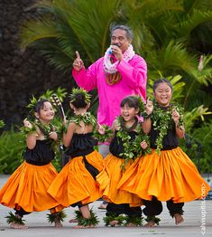 Kumu Keala Ching with Keiki a brave and patient man