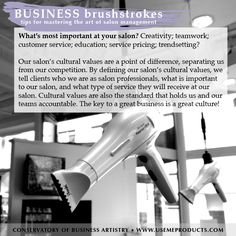 Here's a tip for mastering the art of salon management! #businessbrushstrokes #salon #salonmanagement