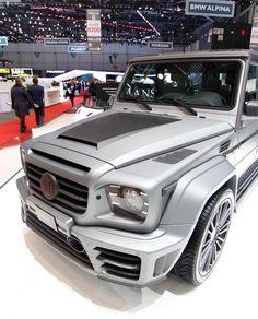 Mercedes G-class Gronos by Mansory (kyank es el ko hamar)