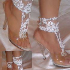 wedding barefoot sandals - Google Search