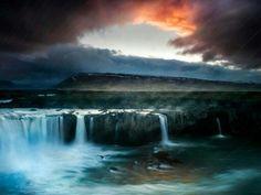 Islandia y sus glaciares, cascadas, volcanes