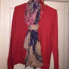 GAP coral pink button up cardigan. Beautiful shade of coral pink cardigan. Worn a few times, but freshly washed for you with no stains, rips or tears. GAP Sweaters Cardigans