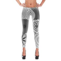 These stylish and durable all-over printed leggings feature our Supercluster design and may be something your legs have secretly been craving. Don't just dress
