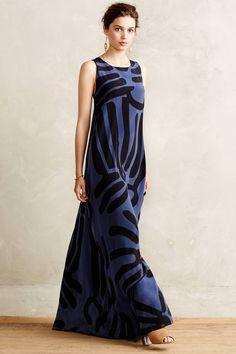 Lily Silk Maxi Dress - anthropologie.com