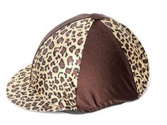 Leopard print hat cover Horse Riding Hats, Horse Show Clothes, Show Horses, Baseball Hats, Cover, Animals, Baseball Caps, Animales, Animaux