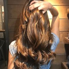 Honey Brown Balayage London Hairdresser For More Hairstyles And Our List Of Hair Services