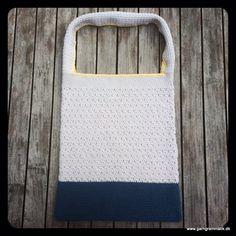 Hæklet net med mønster!