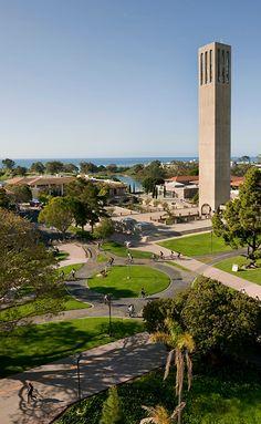 University of California, Santa Barbara, my alma mater!  by Tony Mastres