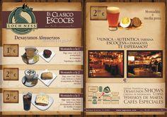 diseños de menus de restaurantes - Buscar con Google