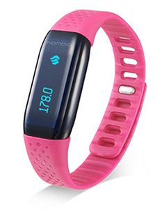 Smart Tech Store MAMBO HR Bluetooth Activity Smart Sport  Fitness Band Heart Rate Monitor Smart Wristband Bracelet For IOS  Android ** Be sure to check out this awesome product.