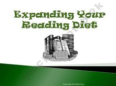 Expanding Your Reading Diet PowerPoint product from Wise-Guys on TeachersNotebook.com